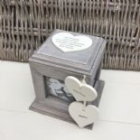 Shabby Chic PERSONALISED Photo Frame Box Nanny Nana Granny Grandma Nan ANY NAMES - 332870170331